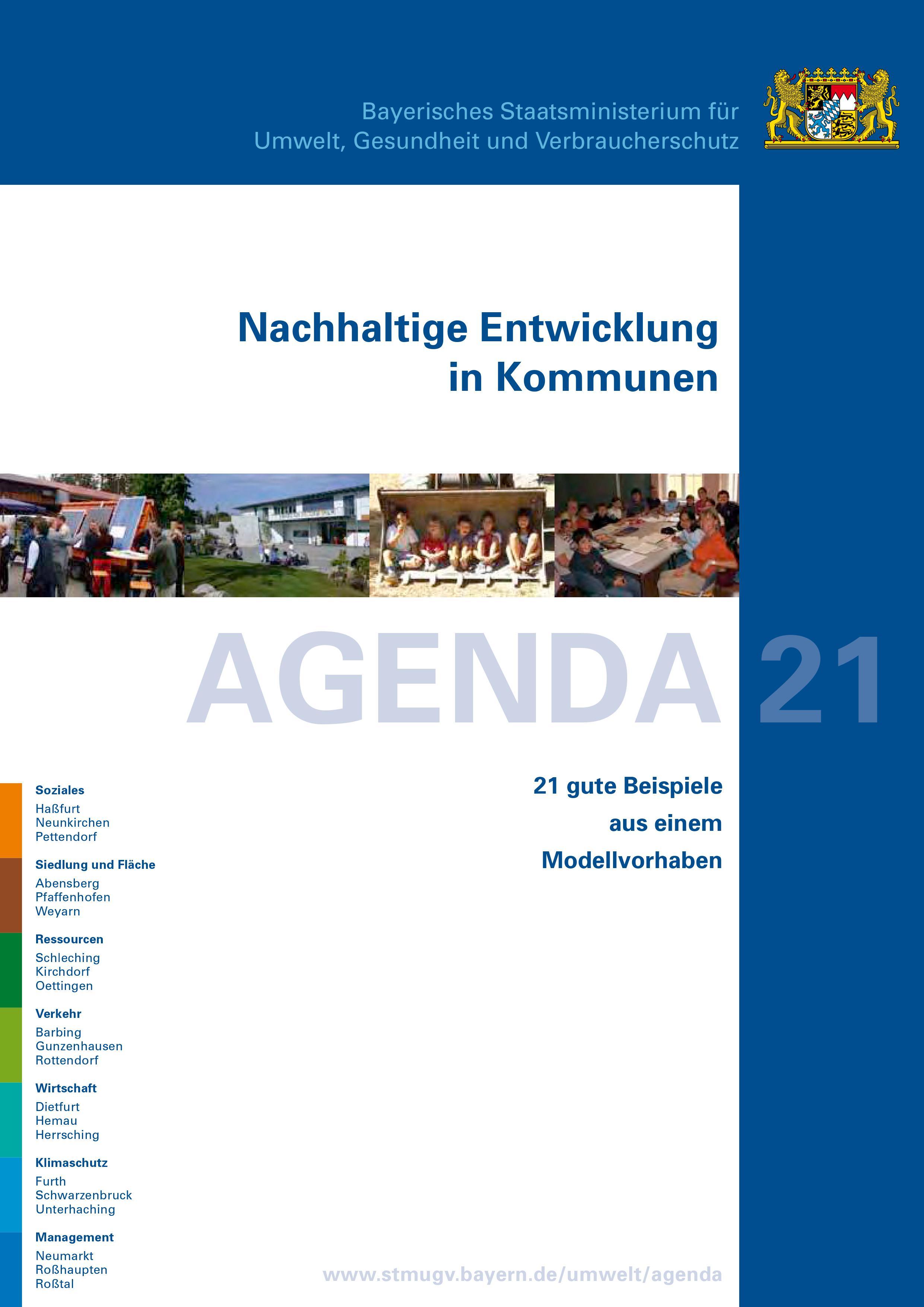 Akteure nachhaltiger Kommunalentwicklung - Nachhaltige ...